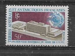T.A.A.F.  Yvert  N° 33 * - Unused Stamps