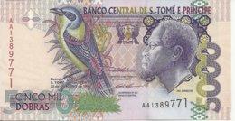 SAO TOME ET PRINCIPE 5000 DOBRAS 1996 UNC P 65 A - San Tomé E Principe