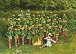 68 - WINTZENHEIM - CARTE POSTALE DES MAJORETTES - Musique Et Musiciens