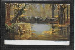 AK 0355  Enrique Serra - Campagna Romana / Künstlerkarte Um 1910-20 - Peintures & Tableaux