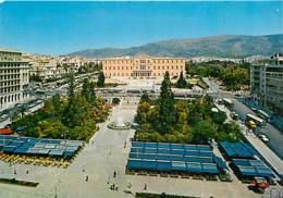 Grèce - Athènes - Athína - Place De La Constitution - Automobiles - Bus - Carte Neuve - Voir Scans Recto-Verso - Grèce