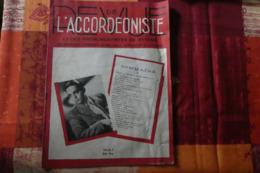 REVUE DE L ACCORDEONISTE MAI 1946 - Musique & Instruments