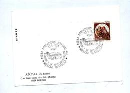 Carte Cachet Pontecchio Marconi  Expo Telecommunication - Machine Stamps (ATM)
