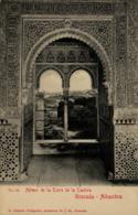 GRANADA - Alhambra - Ajimez De La Torre De La Cautiva - Granada