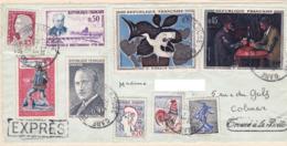 Lettre Exprès Avec Griffe Trouvé à La Boite. 1962 - 1961-....