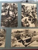 Scènes De Tranchées Allemandes 14-18 - Laon
