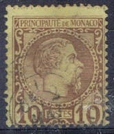 DO 15136 MONACO GESTEMPELD YVERT NR 4 ZIE SCAN - Monaco