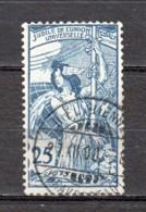 Switzerland 1900 Mi 73-II (dent 11.3/4) Canceled - 1882-1906 Coat Of Arms, Standing Helvetia & UPU