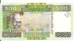 GUINEE 500 FRANCS 2017 UNC P 47 B - Guinée