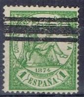 DO 15145 SPANJE GESTEMPELD YVERT NR 148 ZIE SCAN - 1873-74 Regentschaft