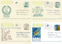 Belg. 2000/2008  - 51 Cartes Postales Différentes Obl. - 51 Verschillende Postkaarten Gebr. (13 Scans) - Stamped Stationery