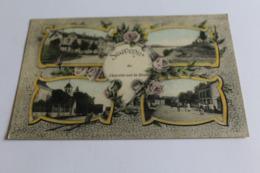 Souvenir De Charette Sur Le Doubs Multivues 1918 Dos Vert - France