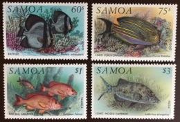 Samoa 1993 Fish MNH - Fische