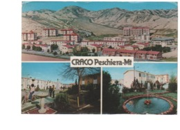 CRACO PESCHIERA VEDUTE -VIAGGIATA-1981-FG.GRANDE - Matera