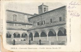 BOLOGNA PROVINCIA-IMOLA CONVENTO OSSERVANZA CORTILE INTERNO - Bologna