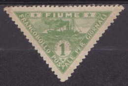 Occupation - ITALIE - FIUME - Timbres Pour Journaux - N° 2 * - 1920 - Fiume