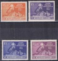 DO 15150   NOUVELLES HEBRIDES  XX YVERT NR 136/139 ZIE SCAN - Französische Legende