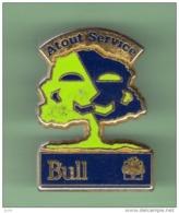 BULL *** ATOUT SERVICE ***  2003 - Pin's