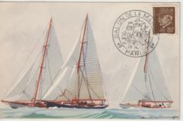 France 1943 Salon De La Marine Paris - Postmark Collection (Covers)