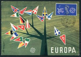 GB Europa CEPT Maxicard. Field Post Office FPO 234 - Europa-CEPT