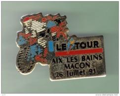 CYCLISME *** LE TOUR 91 *** AIX LES BAINS - MACON 26 JUILLET 91 ***  2003 - Wielrennen