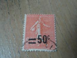 Timbre  Semeuse Lignée Surchargée 50 C Sur 85 C. Reste De Charnière - 1903-60 Semeuse Lignée
