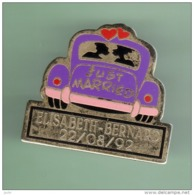 JUST MARRIED *** ELISABETH-BERNARD ***  2003 - Pin's