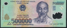 VIETNAM PP124j 500000 Or 500.000 DONG (20)14 2014    XF (one Vertical Central Fold ) - Vietnam