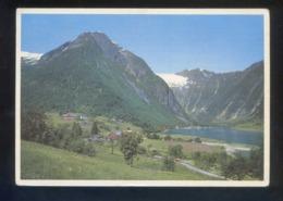 *The Sognefjord. View Of Vindreken...* Circulada Honningsvåg 1967. - Noruega
