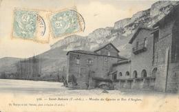 St Saint-Antonin Noble Val (Tarn Et Garonne) Moulin Du Gravier Et Roc D'Anglars - Photo Dejean Et Vaissié - Carte N° 226 - Saint Antonin Noble Val
