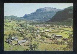 Tuv. *Hemsedal Valley* Circulada. - Noruega