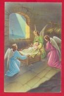 CARTOLINA VG ITALIA - BUON NATALE - Adorazione Del Bambino Gesù - P. VENTURA - CECAMI 4392 - 9 X 14 - 1959 - Altri