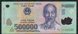 VIETNAM P124k 500000 Or 500.000 DONG (20)15 2015    XF-AU  (few Waves ) - Vietnam