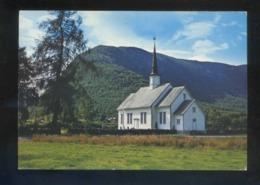 Hornindal. *The Church Built In 1856* Circulada Hornindal 1975. - Noruega