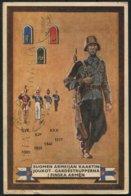 1944 (March) Finland Army Uniform Kenttapostia Fieldpost Feldpost Postcard - Finland