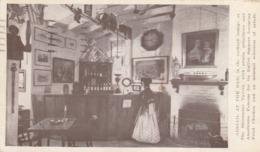 Silvermine Norwalk CT - The Silvermine Tavern Cocktail Lounge Postcard 1949 - Norwalk