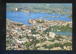 Stavanger. *Part Of The Town Seen From The Air...* Circulada Stavanger 1975. - Noruega