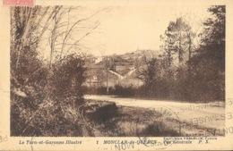 Montclar-de-Quercy (Tarn Et Garonne Illustré) Vue Générale - Edition Mme Vardeille, Tabacs - Carte P.X. N° 1 - Montclar De Quercy