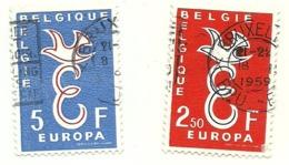 1958 - Belgio 1064/65 Europa       C3803 - Europa-CEPT