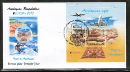CEPT 2012 AZ MI BL 109 AZERBAIJAN FDC - Europa-CEPT