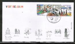 CEPT 2012 BE MI 4262-63 BELGIUM FDC - 2012