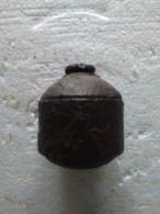 Grenade à Tromblon Allemande - Ww1 - INERTE. - Armes Neutralisées