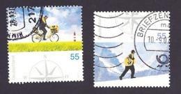 Deutschland, 2005, Mi.-Nr. 2447-2448,  Gestempelt - BRD