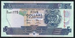 SOLOMONS ISLANDS P26d 5 DOLLARS 2018 (new) Signature 8 (intro.2018 ) UNC. - Salomonseilanden