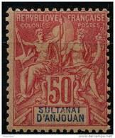 Anjouan (1892) N 11 * (charniere) - Anjouan (1892-1912)