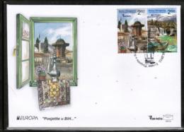 CEPT 2012 BA MI 589-90 BOSNIA AND HERZEGOVINA FDC - Europa-CEPT