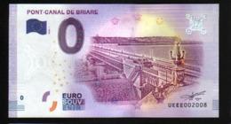 France - Billet Touristique 0 Euro 2018 N°2008 - PONT-CANAL DE BRIARE - EURO