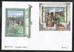 CEPT 2012 BA MI BL 45 BOSNIA AND HERZEGOVINA FDC - Europa-CEPT