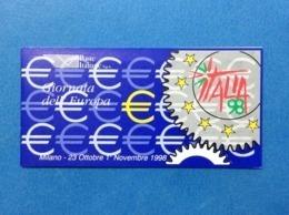 1998 Italia Carnet Libretto Nuovo MNH** Giornata Europa Italia 98 Euro - 6. 1946-.. Republic