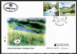 CEPT 2012 BA MI 563-64 BOSNIA AND HERZEGOVINA FDC - Europa-CEPT